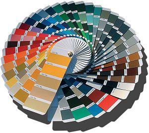 Colour Chart Kitchen